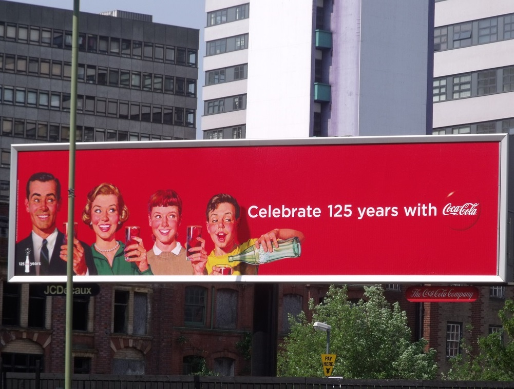 celebrate 125 years with Coca Cola