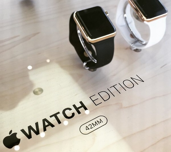 Apple Watch Edition, gold