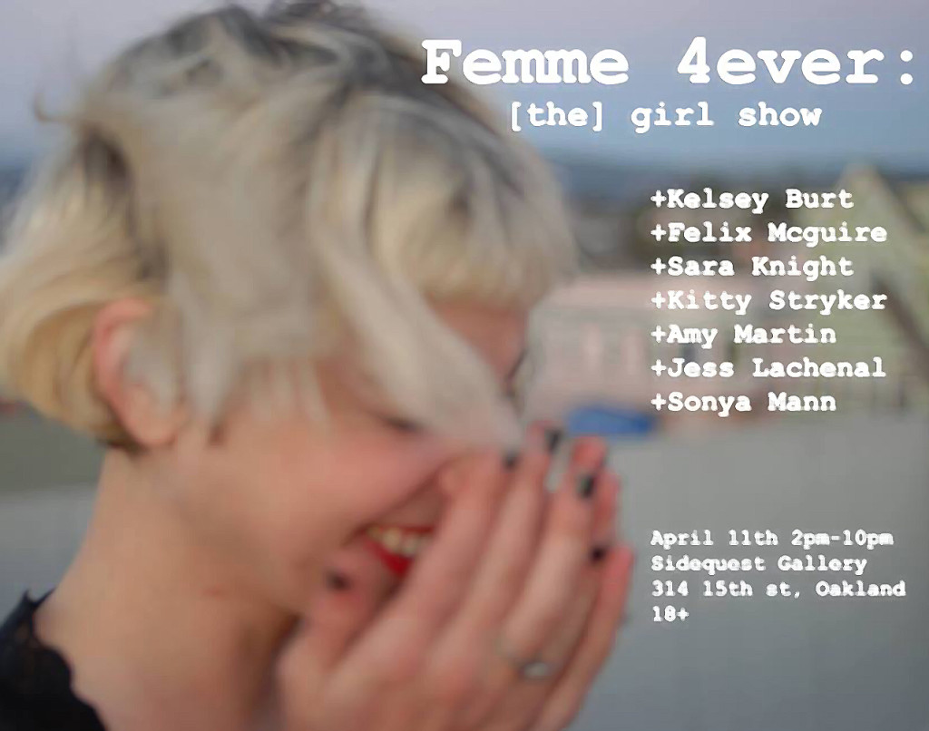 femme 4ever art show at SideQuest Gallery