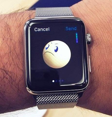 grumpy Apple Watch