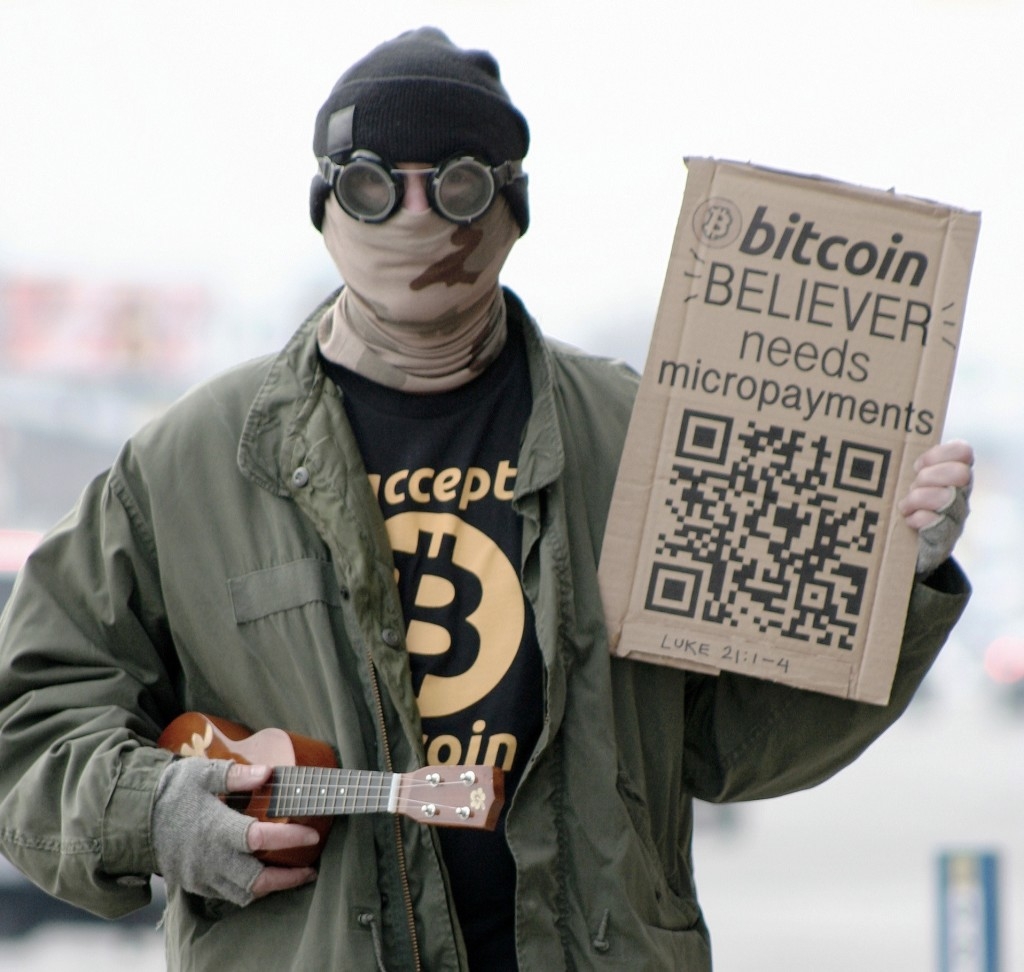 Bitcoin believer needs micropayments