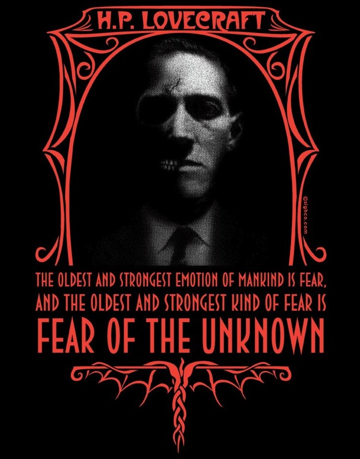 HP Lovecraft: Fear of the Unkown
