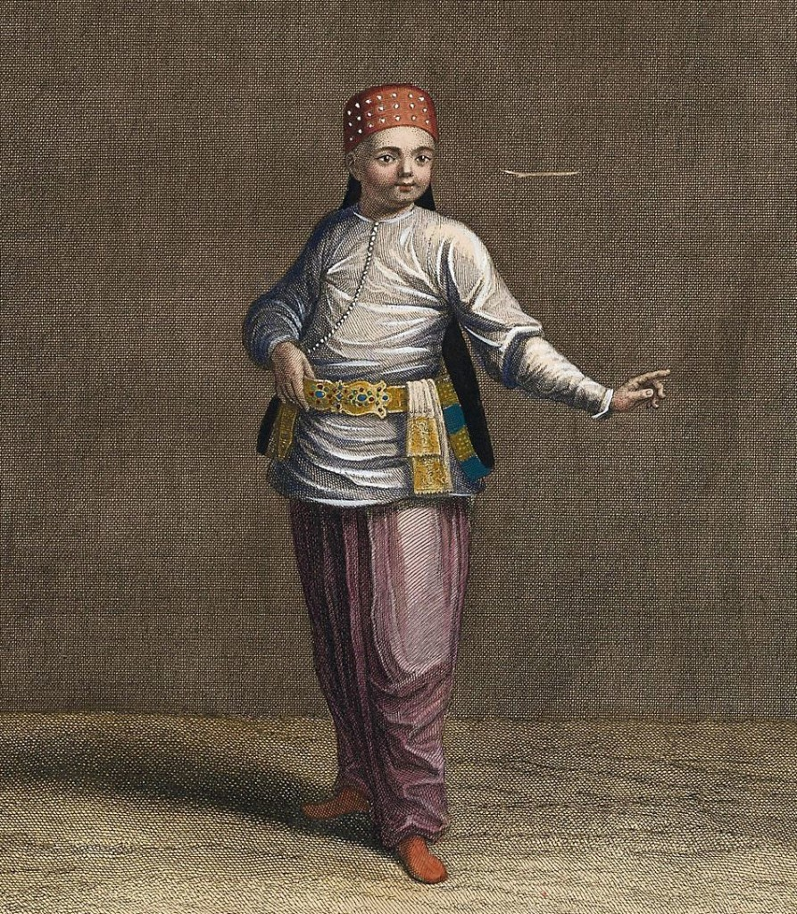 Young Turkish Boy, 1714