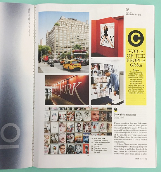 snapshot of Monocle Magazine