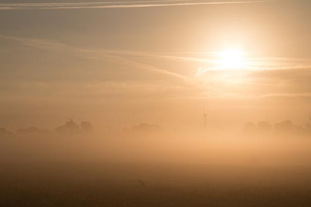Portrait of a sunrise by Susanne Nilsson.