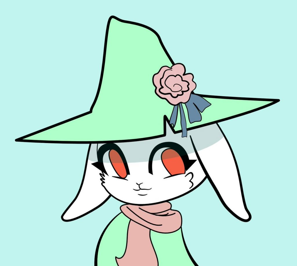 Snufkin rendition by Twitter friend @suchaone.