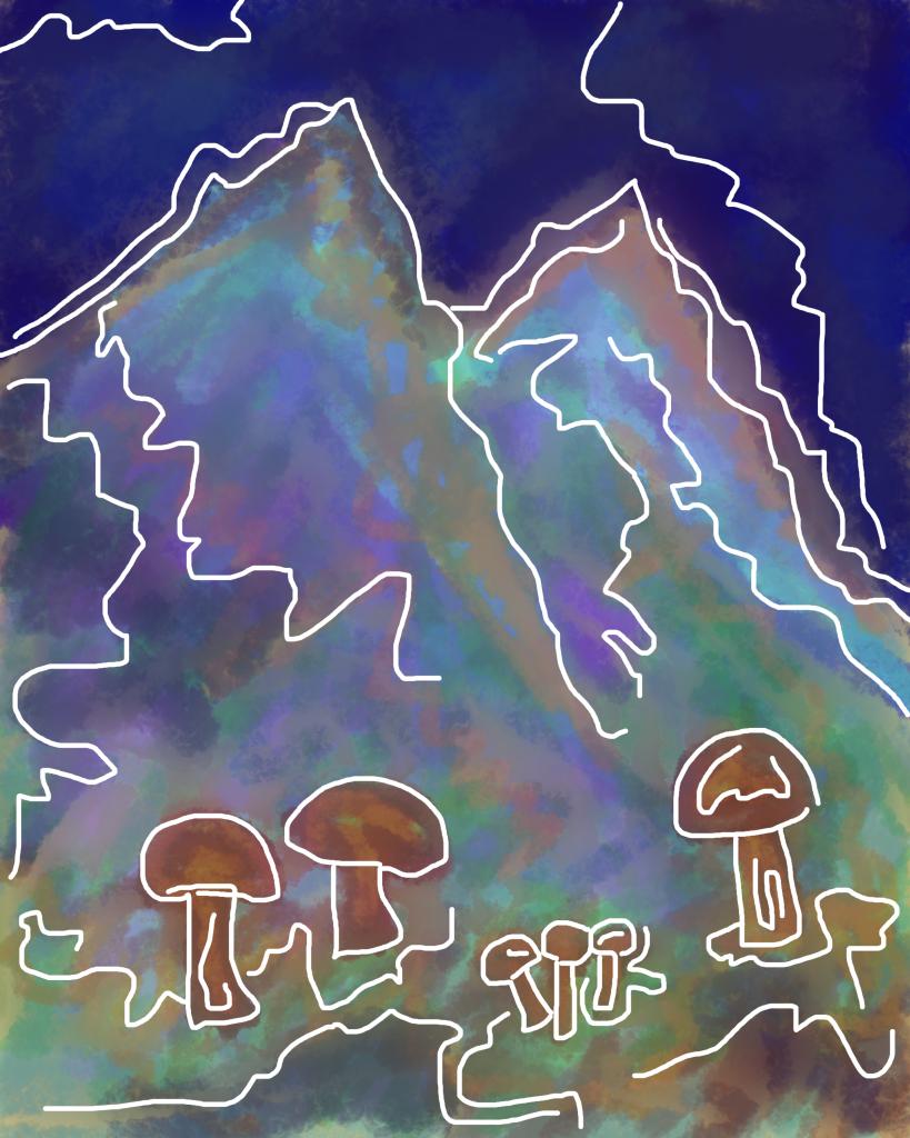 Drawlloween Day 4: Mushroom